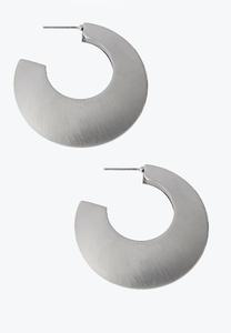 Chunky Retro Hoop Earrings