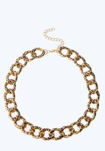 Leopard Link Necklace