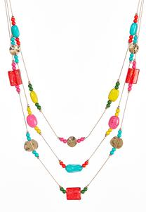 Bright Multi Layered Necklace