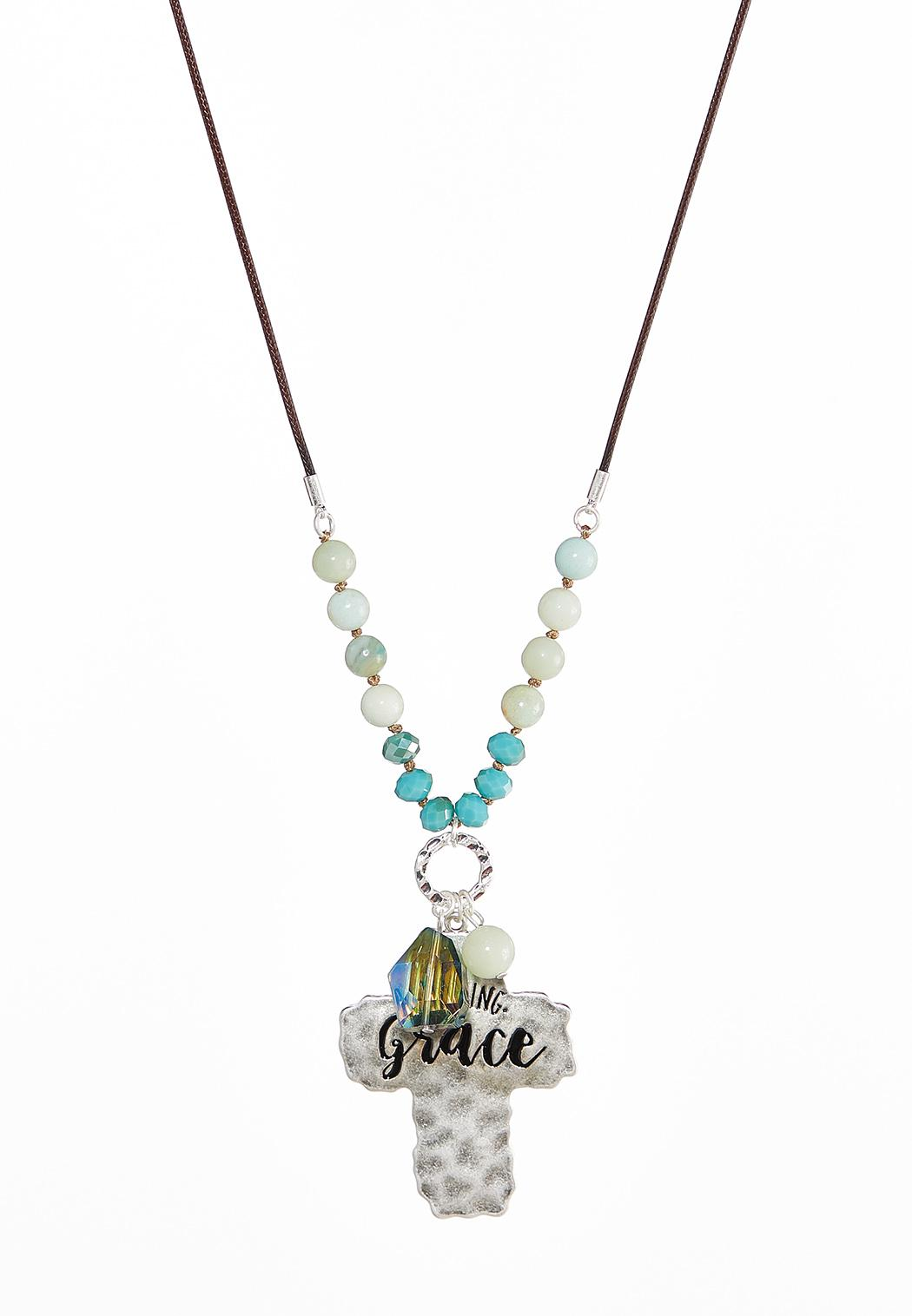 Grace Cross Pendant Necklace