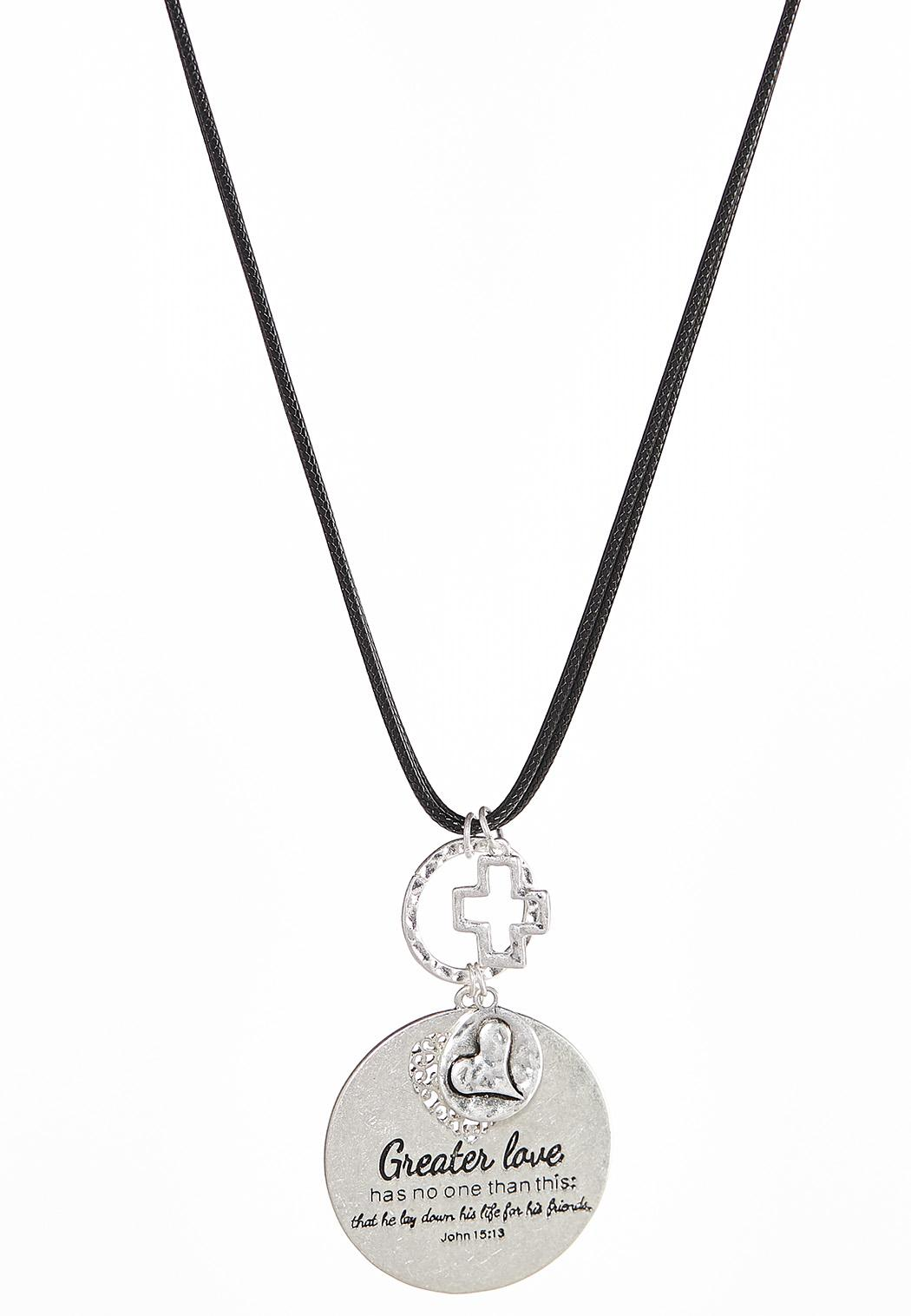 Greater Love Pendant Necklace