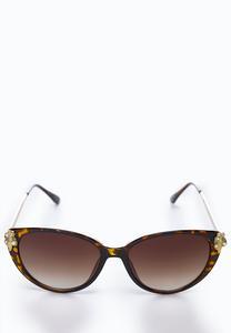 Embellished Tortoise Sunglasses