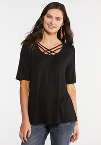 Criss Cross Swing Top