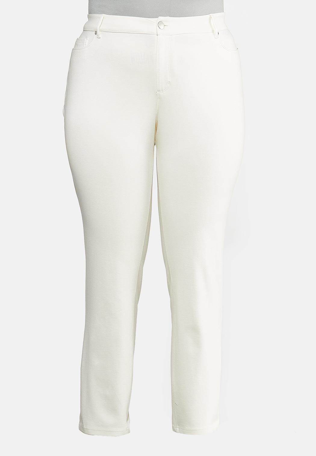 Plus Petite Skinny Leg Ponte Pants
