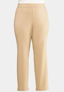 Plus Petite Slim Leg Ponte Pants