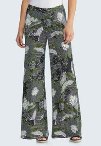Floral Charm Palazzo Pants