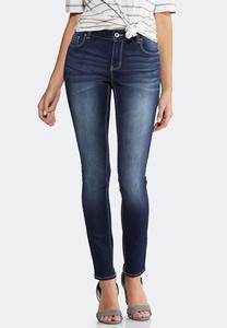 Petite Dark Wash Jeggings