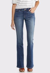 Petite Dark Wash Bootcut Jeans