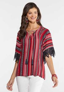 03b7a539854 Lace Sleeve Poet Top