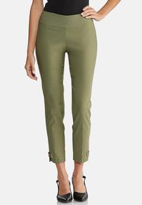 Cropped Ribbon Pants