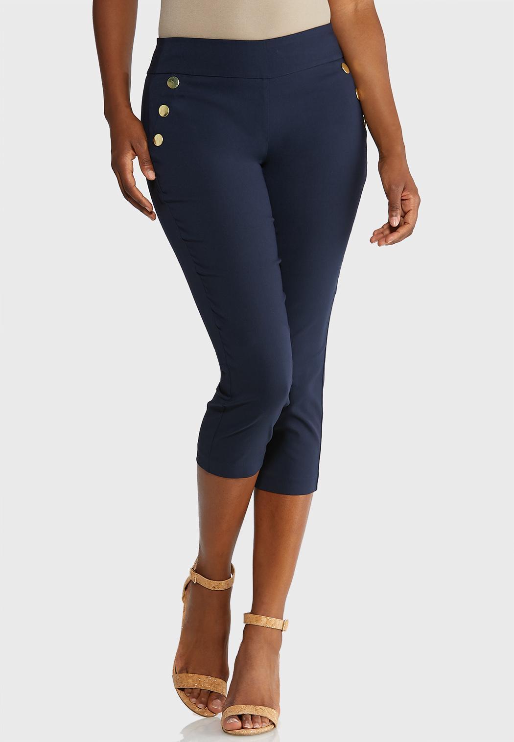 Nautical Button Pants