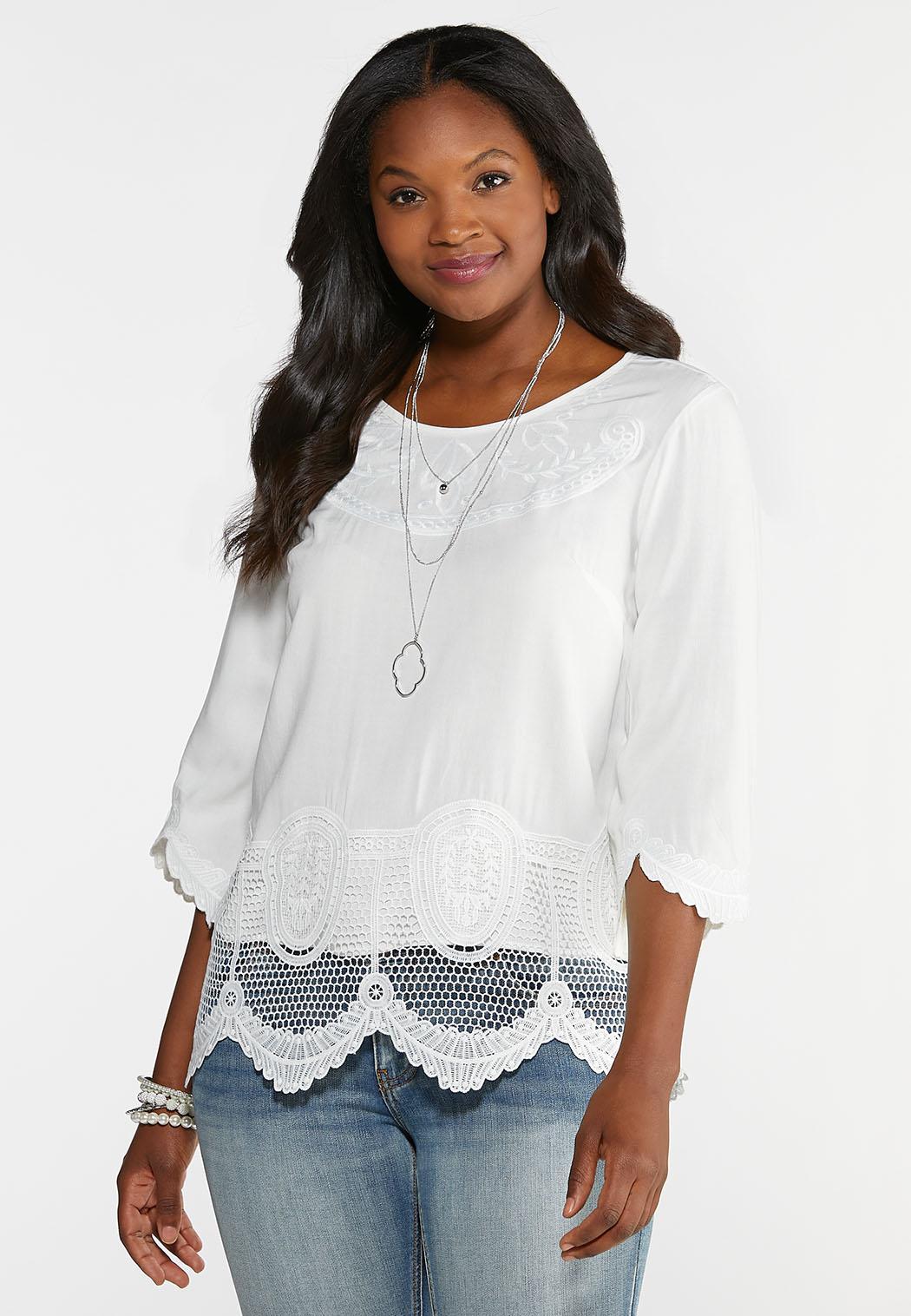 56c4c452 Women's Plus Size Shirts & Blouses