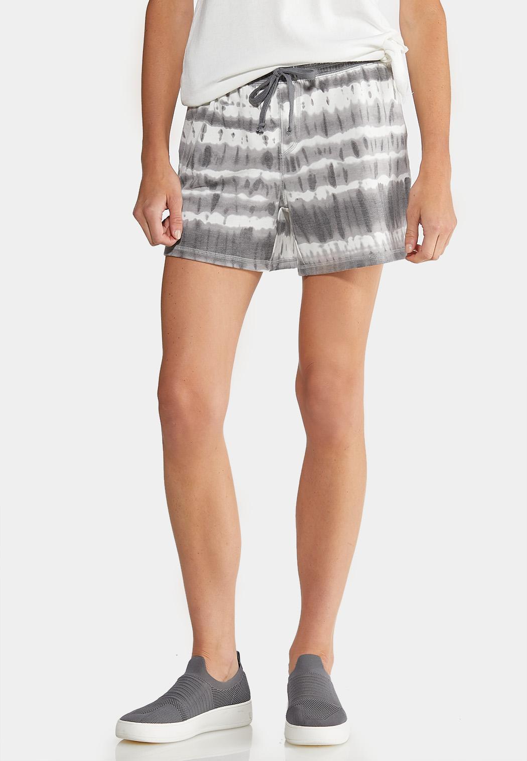 Drawstring Tie Dye Shorts