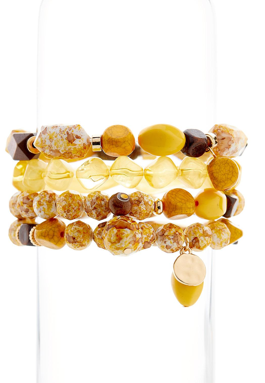 Multi Bead Stretch Bracelet