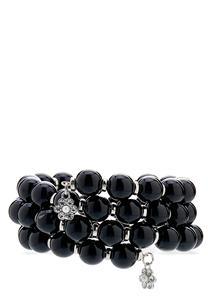 Charmed Lucite Coil Bracelet