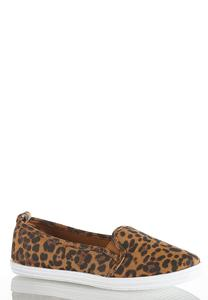 Leopard Stretch Gore Sneakers