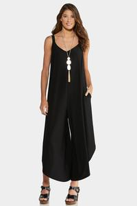 Plus Size Black Genie Jumpsuit