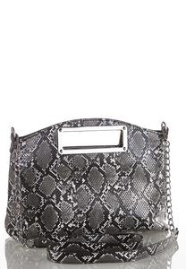 Snakeskin Convertible Crossbody
