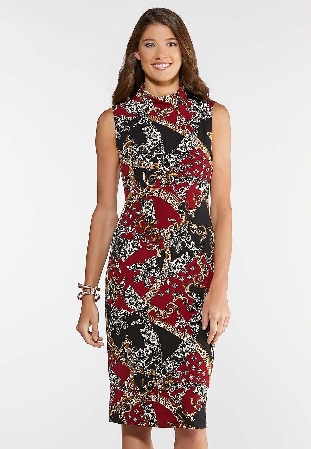 Plus Size Status Midi Dress