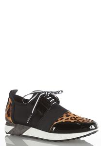 Leopard Chunky Sole Sneakers