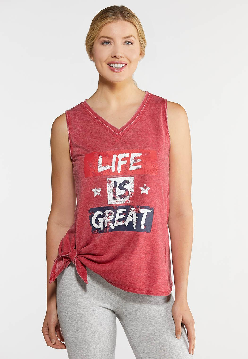 Life Is Great Tank