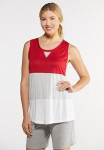 Stripe Colorblock Tank