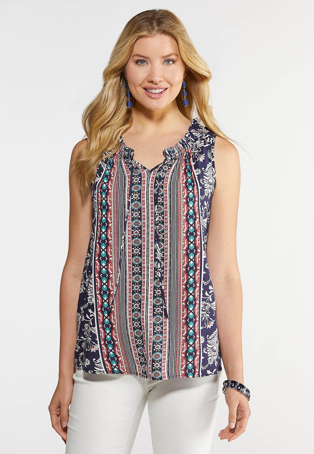 Women's Clothing Fashion Women Casual Summer Sleeveless Top Vest Blouse Pocket Ladies Shirt Tops