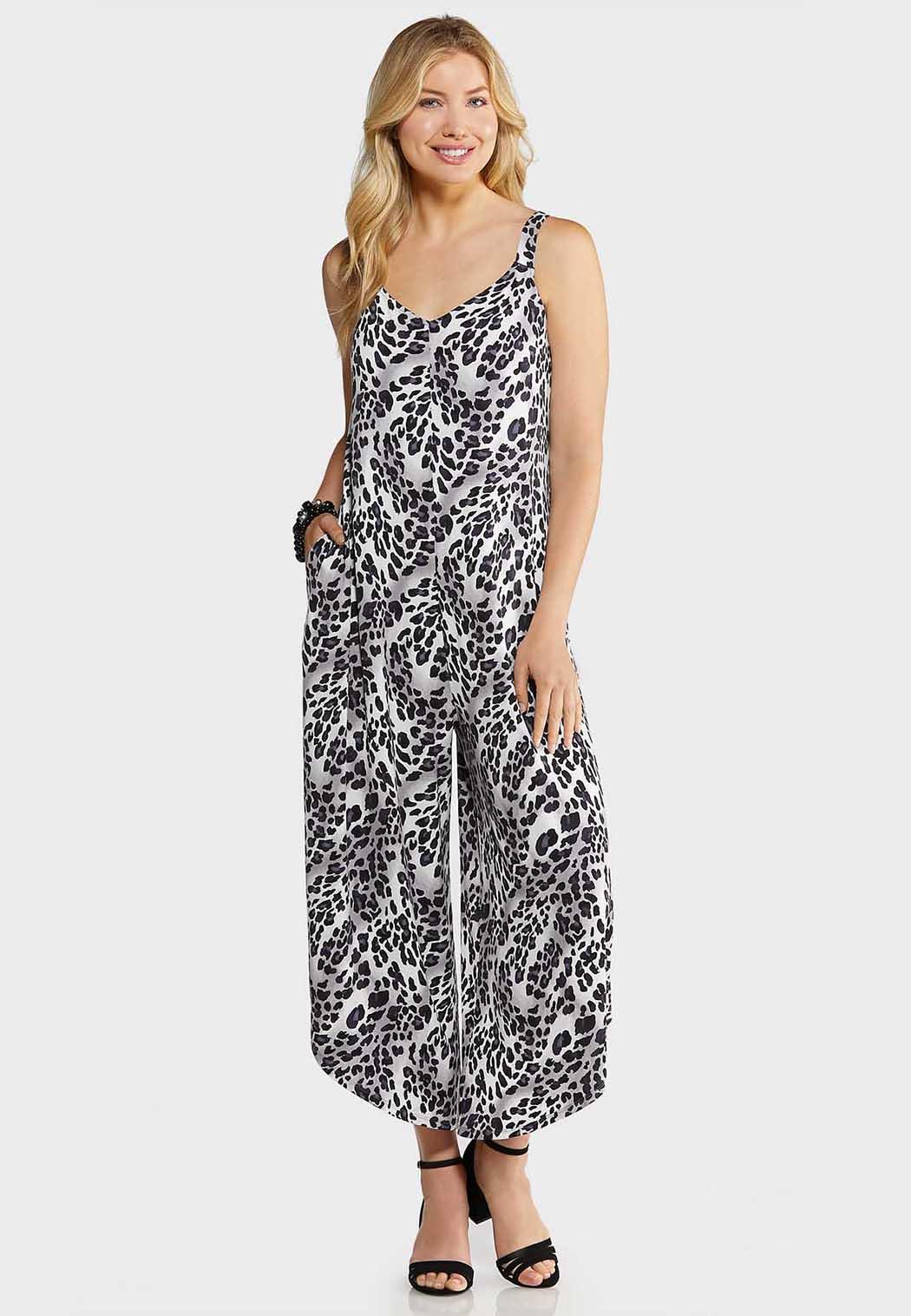Plus Size Wild Contrast Jumpsuit Jumpsuits Cato Fashions