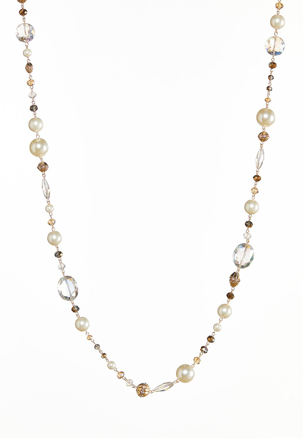 Delicate Mixed Bead Necklace