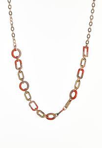Acrylic Link Necklace