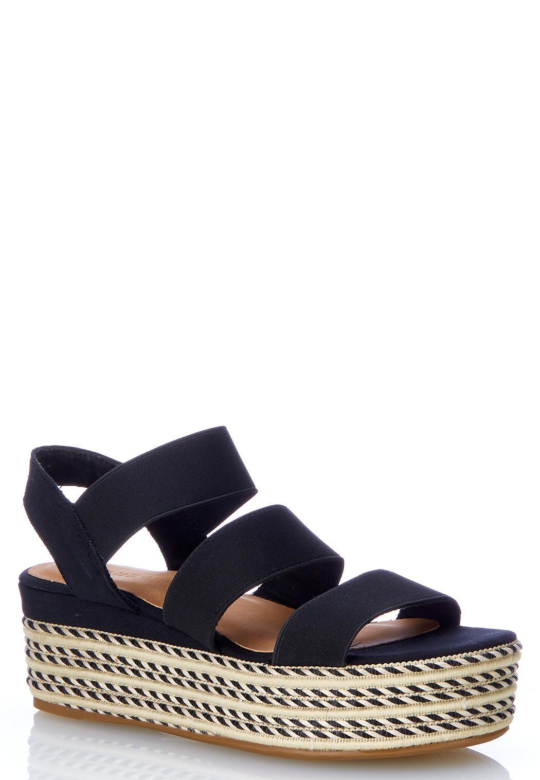 Roped Flatform Sandals
