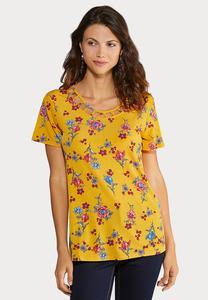 Floral Lattice Top