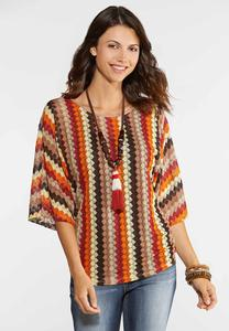 Ruched Crochet Top