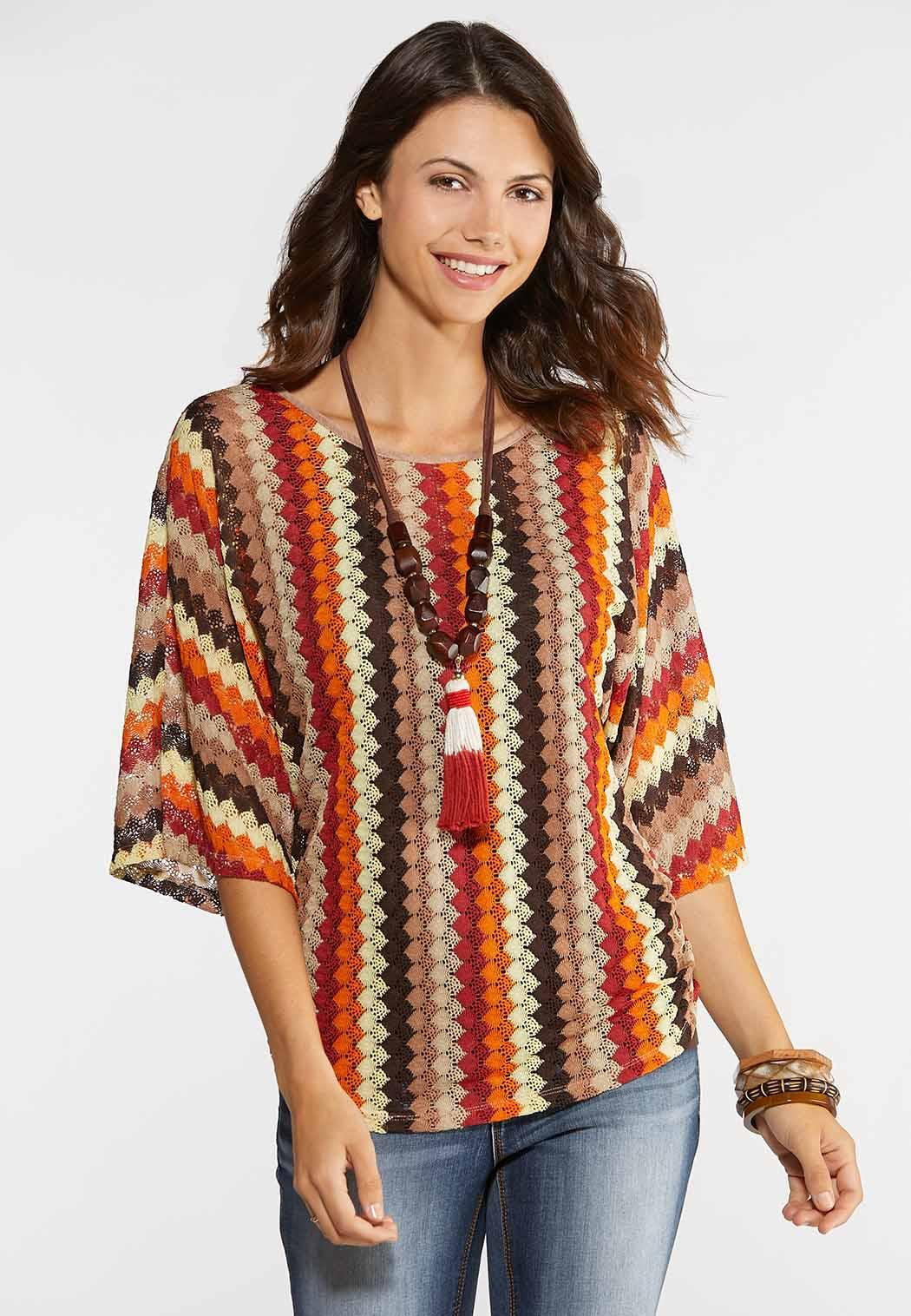 Plus Size Ruched Crochet Top