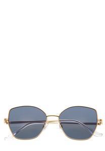 Mod Metal Frame Sunglasses