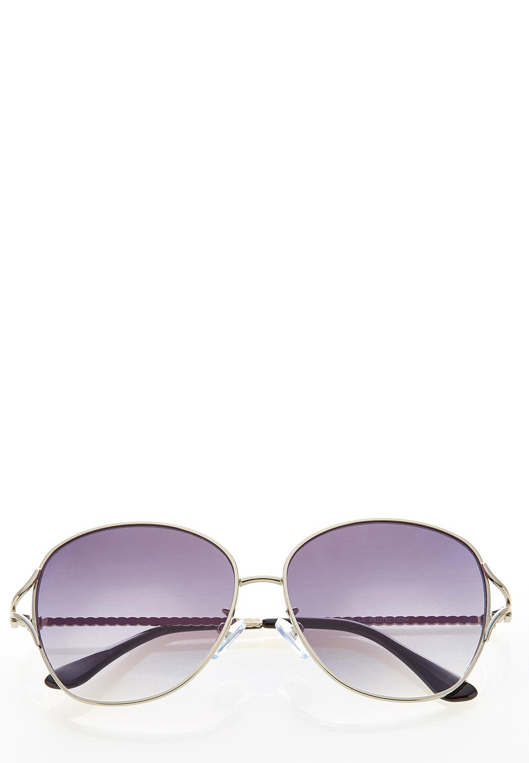 Roped Metal Sunglasses