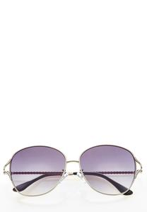 Roped Metal Sunglasses