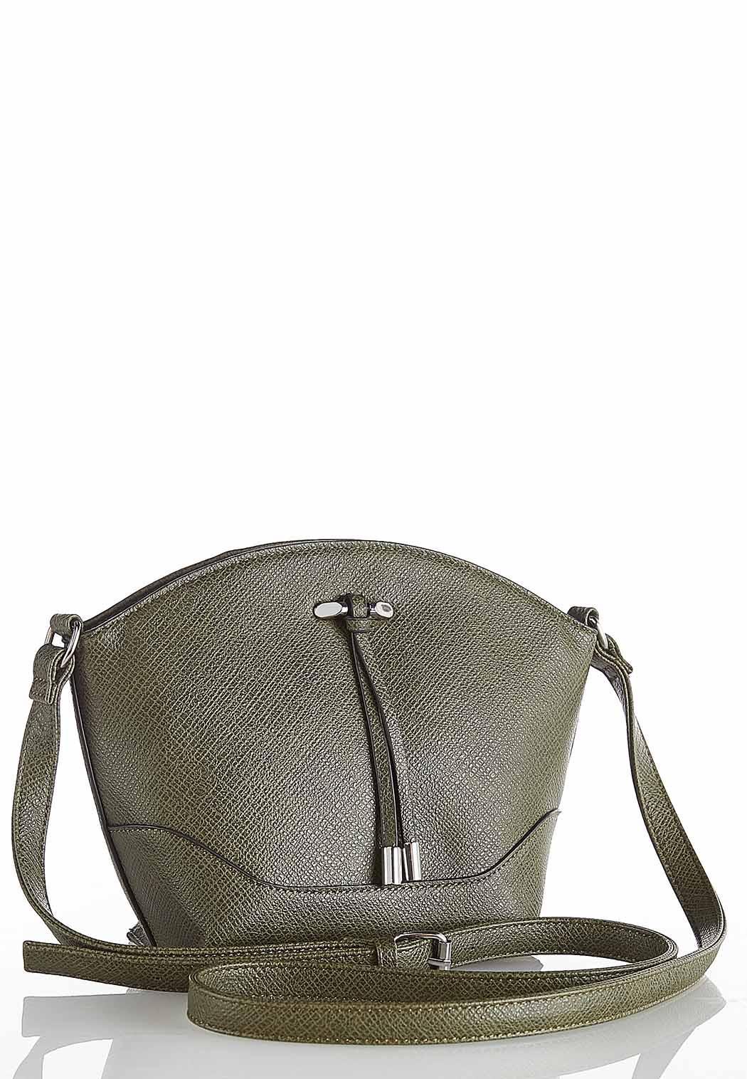 Hardware Tassel Bucket Crossbody