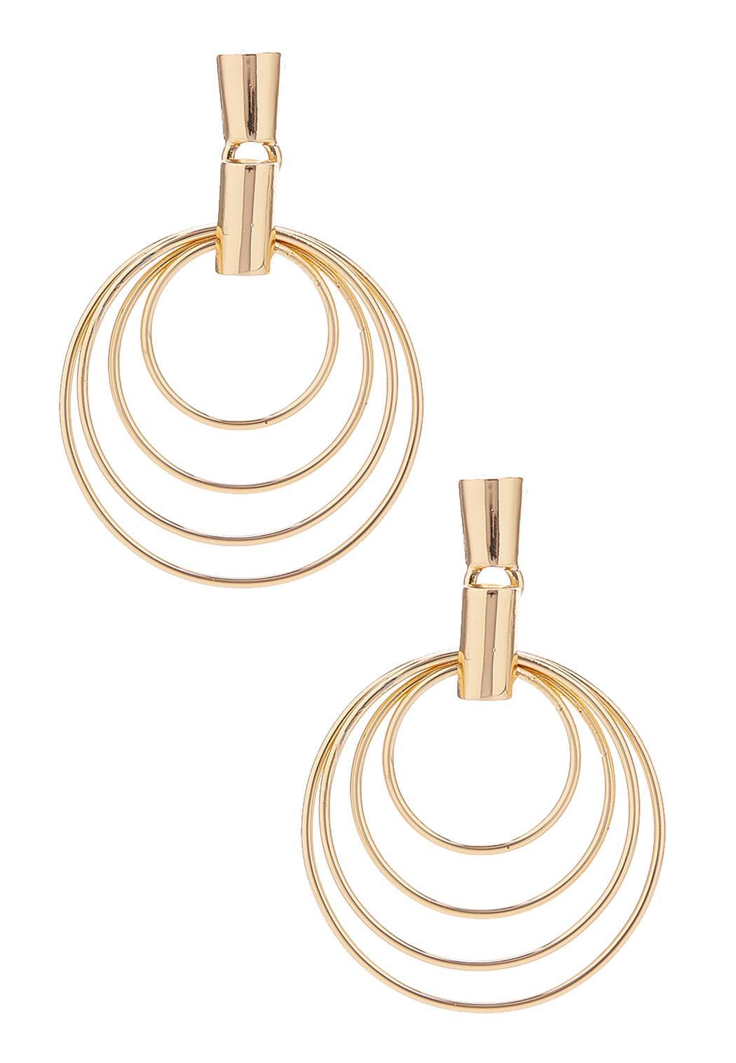 Layered Circle Earrings