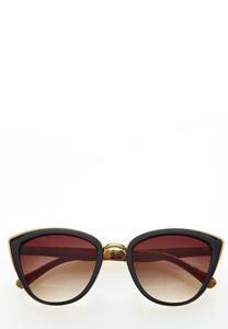 Leopard Frame Cateye Sunglasses
