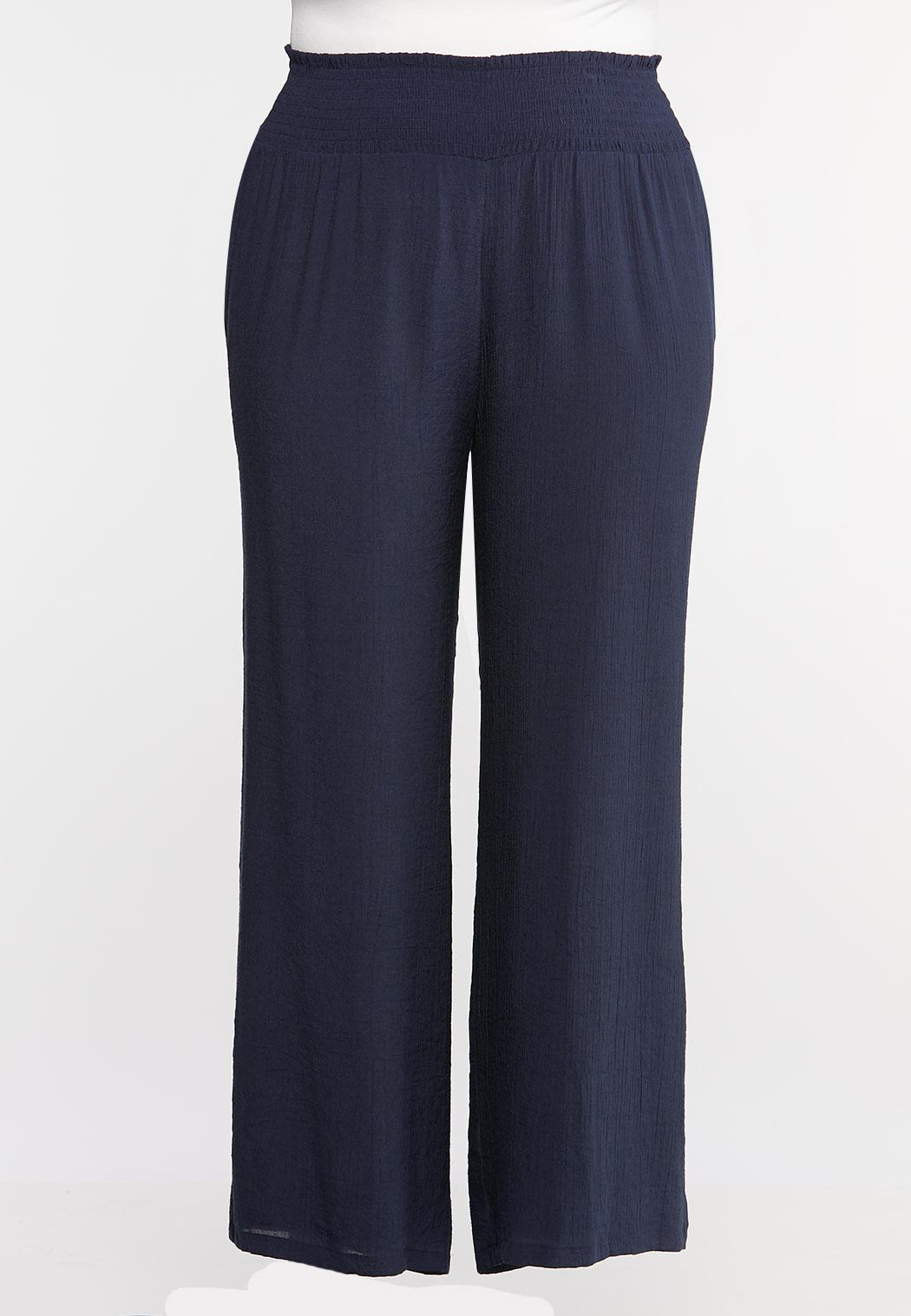Plus Petite Wide Leg Pants