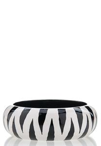 Zebra Bangle Bracelet