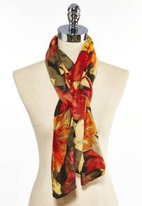 Floral Vibe Oblong Scarf