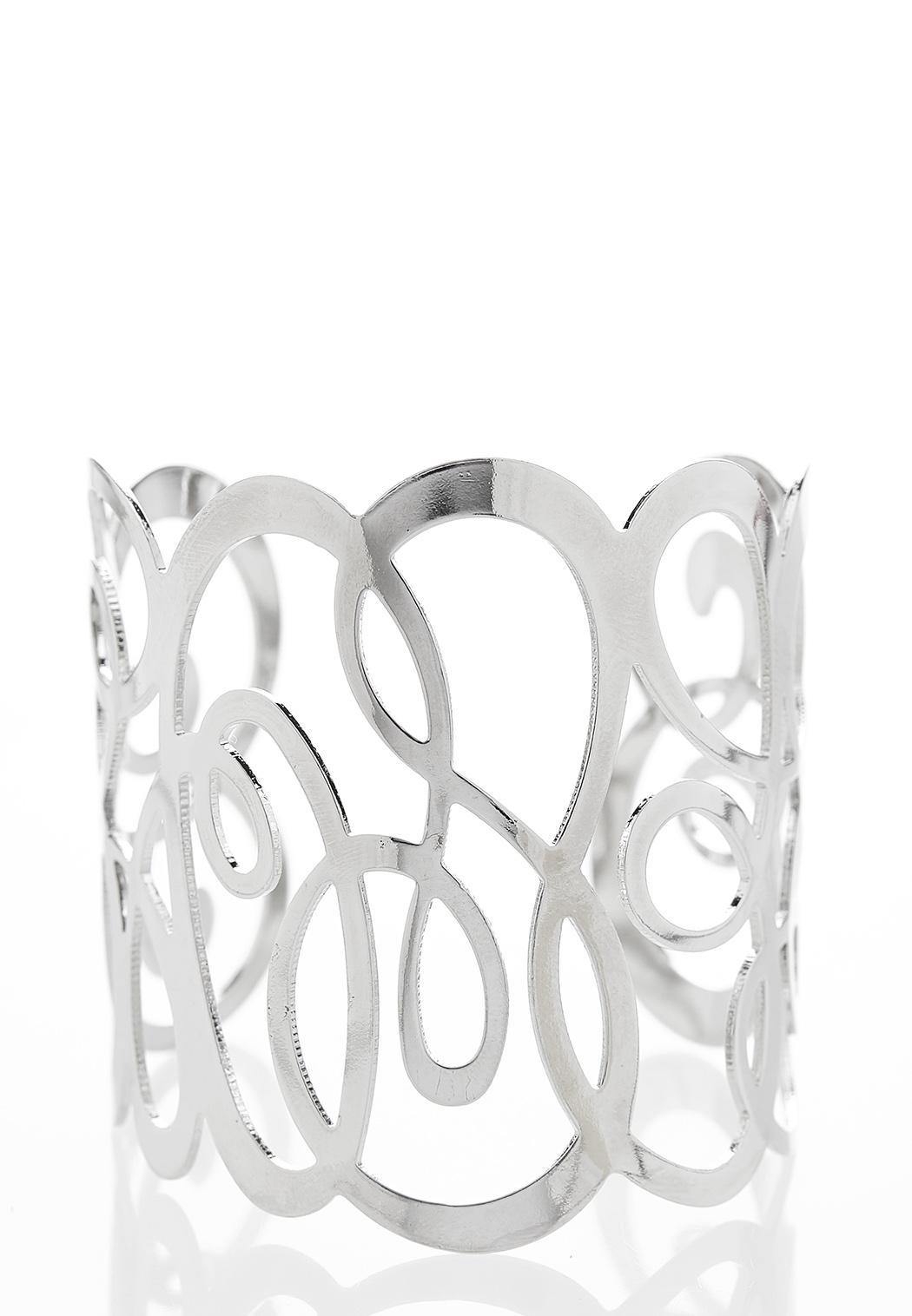 Swirled Metal Cuff