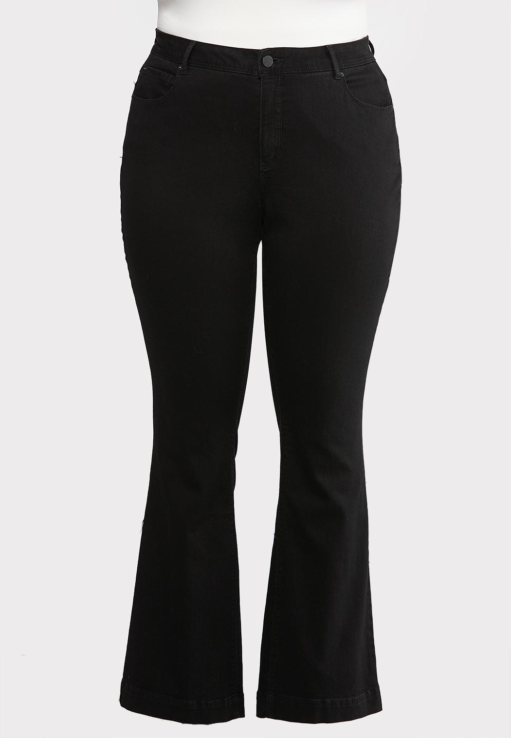 Plus Petite Black Bootcut Jeans