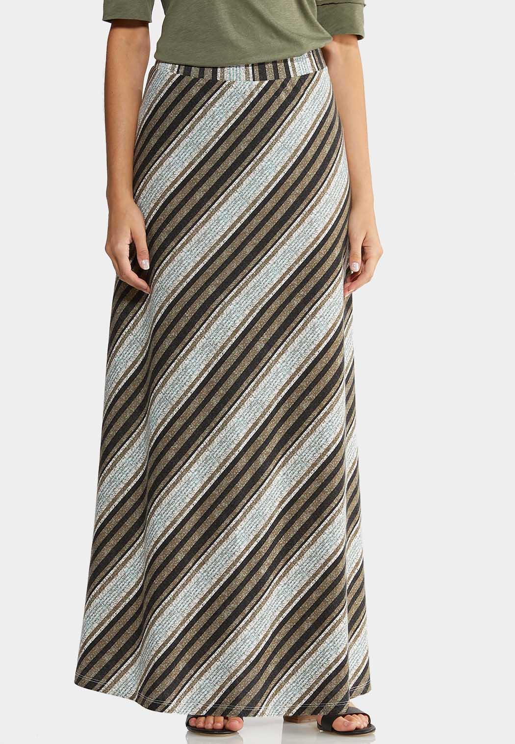 Sugar Stripe Maxi Skirt