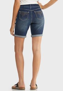 Glitzy Stud Pocket Shorts