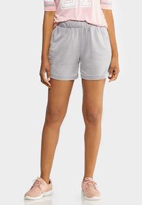 Mesh Trim Shorts