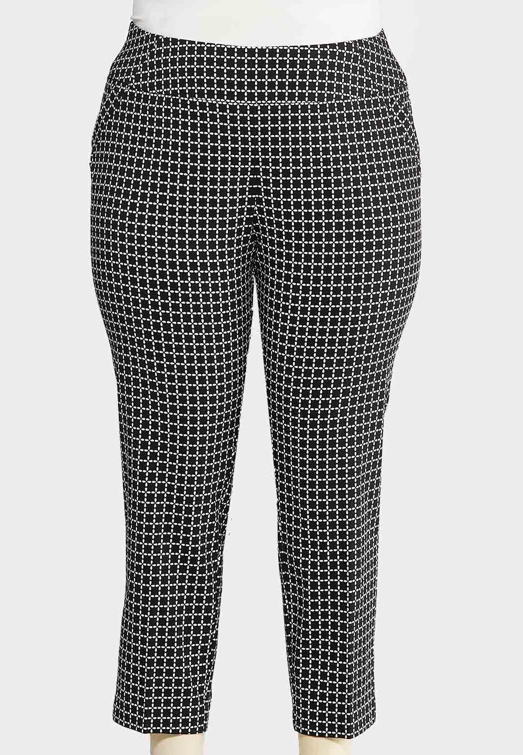 Plus Size Mod Ankle Pants