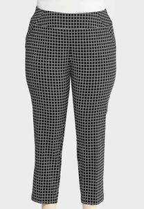 8b7656823ffe8 Plus Size Mod Ankle Pants